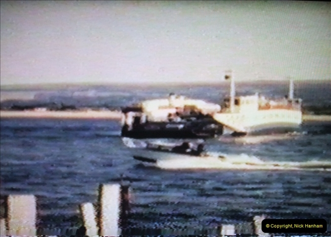1965 Poole. Very poor quality images taken from 8mm movie film. For historic value.  (35)35