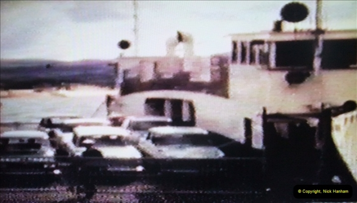 1965 Poole. Very poor quality images taken from 8mm movie film. For historic value.  (38)38