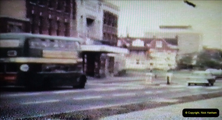1965 Poole. Very poor quality images taken from 8mm movie film. For historic value.  (47)47
