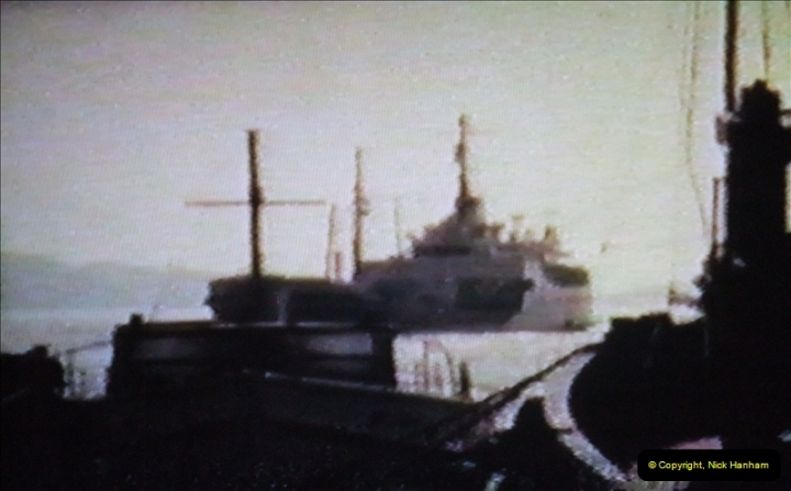 1965 Poole. Very poor quality images taken from 8mm movie film. For historic value.  (5)05