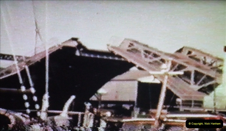 1965 Poole. Very poor quality images taken from 8mm movie film. For historic value.  (6)06