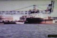 1965 Poole. Very poor quality images taken from 8mm movie film. For historic value.  (1)01