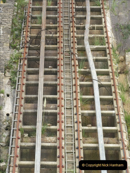 2018-09-08 Bournemouth East Cliff Railway progress after cliff fall.  (3)254
