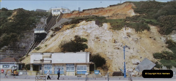 2018-09-08 Bournemouth East Cliff Railway progress after cliff fall.  (7)258