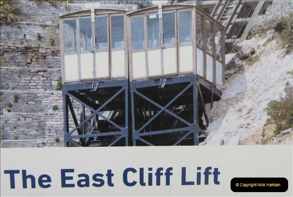 2018-09-08 Bournemouth East Cliff Railway progress after cliff fall.  (8)259