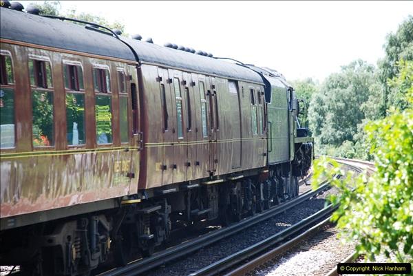2016-07-14 The Swanage Belle @ Parkstone. Poole, Dorset.  (10)085