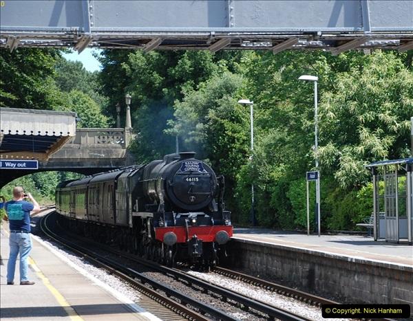 2016-07-14 The Swanage Belle @ Parkstone. Poole, Dorset.  (3)078