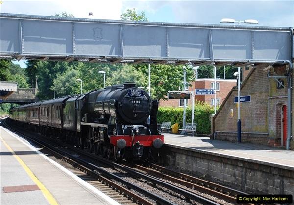 2016-07-14 The Swanage Belle @ Parkstone. Poole, Dorset.  (5)080