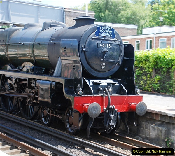 2016-07-14 The Swanage Belle @ Parkstone. Poole, Dorset.  (6)081
