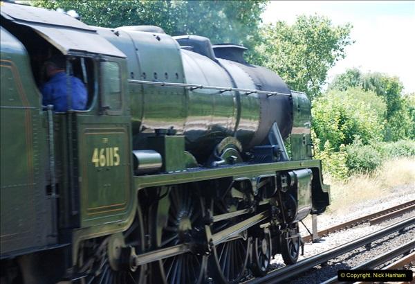 2016-07-14 The Swanage Belle @ Parkstone. Poole, Dorset.  (7)082