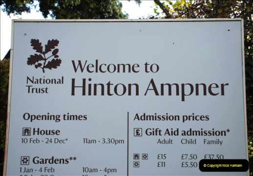 Hinton Ampner 12 November 2018