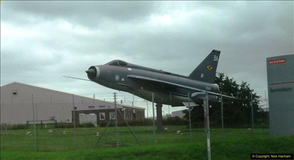 2016-08-07 Gate Guard at BAE Systems, Samlesbury, Lancashire.031