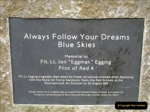 2018-09-09 The John Egging Memorial Bournemouth, Dorset.  (3)100