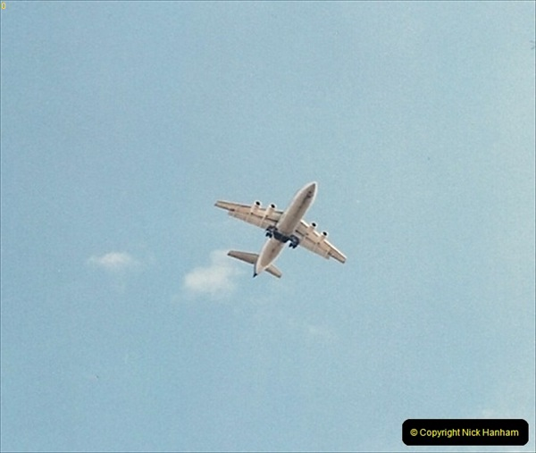 1995-08-26 HSE 146 over Anglesey Abbey, Cambridgshire.168