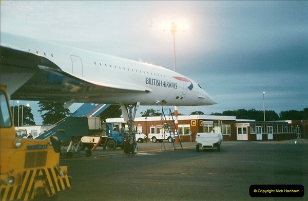 1998-08-13 Concorde @ Bournemouth Airport, Dorset. Your Host on board. (10)190