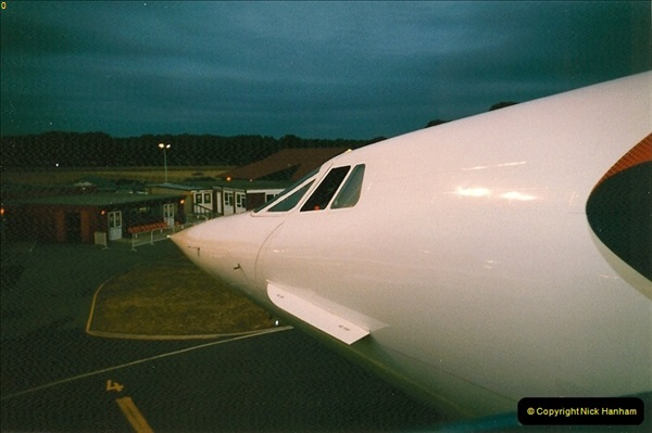1998-08-13 Concorde @ Bournemouth Airport, Dorset. Your Host on board. (15)195