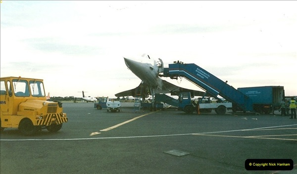 1998-08-13 Concorde @ Bournemouth Airport, Dorset. Your Host on board. (3)182