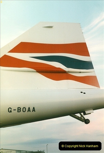 1998-08-13 Concorde @ Bournemouth Airport, Dorset. Your Host on board. (7)187