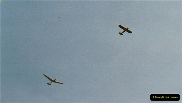 2003-06-15 Over Banbury, Oxfordshire. Glider & Tug.247