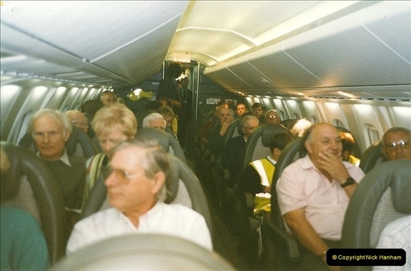 1998-08-13 Concorde @ Bournemouth Airport, Dorset. Your Host on board. (12)192