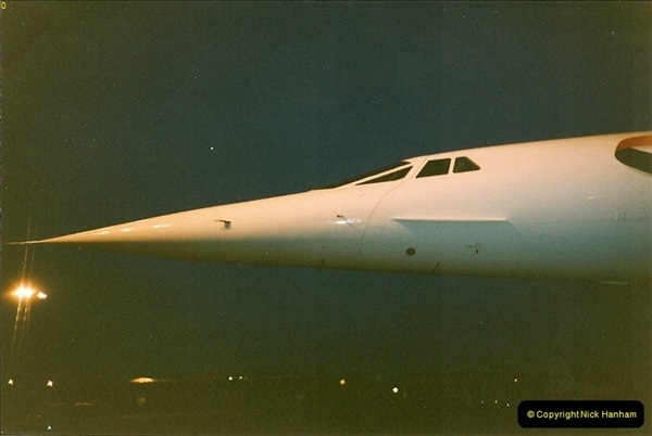 1998-08-13 Concorde @ Bournemouth Airport, Dorset. Your Host on board. (16)196