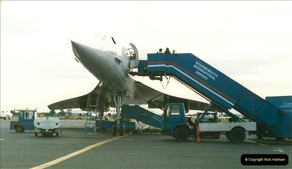1998-08-13 Concorde @ Bournemouth Airport, Dorset. Your Host on board. (4)183