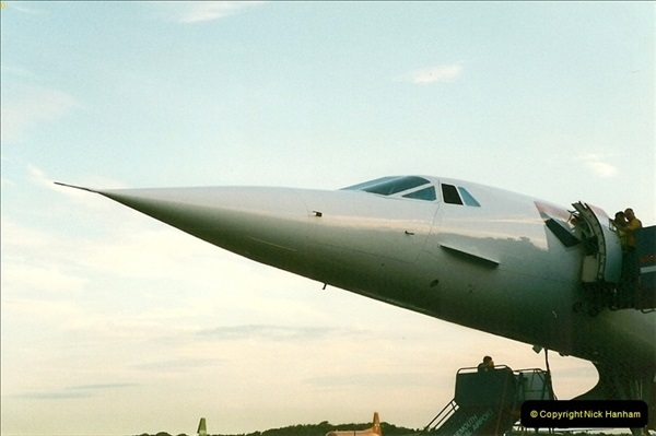1998-08-13 Concorde @ Bournemouth Airport, Dorset. Your Host on board. (5)185
