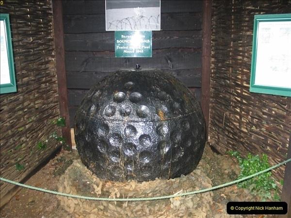 2005-07-02 Test area for the Barnes Wallis bouncing bomb. Abbotsbury, Weymouth, Dorset.  (1)357