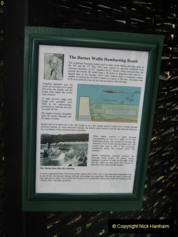 2005-07-02 Test area for the Barnes Wallis bouncing bomb. Abbotsbury, Weymouth, Dorset.  (2)358