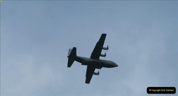 2007-02-22 Hercules Over Norden, Corfe Castle, Dorset.469