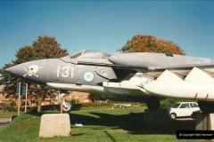1995-10-08 DH Sea Vixen as Gate Gard Christchurch, Dorset.  (3)171