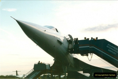 1998-08-13 Concorde @ Bournemouth Airport, Dorset. Your Host on board. (4a)184