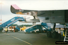 1998-08-13 Concorde @ Bournemouth Airport, Dorset. Your Host on board. (8)188
