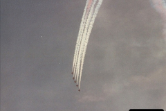 2003-08-15. The Red Arrows over Poole, Dorset.  (3)250