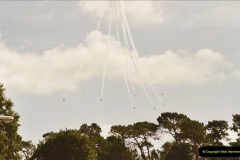 2003-08-15. The Red Arrows over Poole, Dorset.  (5)252