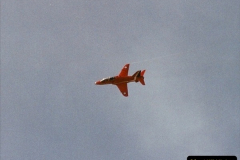 2003-08-15. The Red Arrows over Poole, Dorset.  (6)253