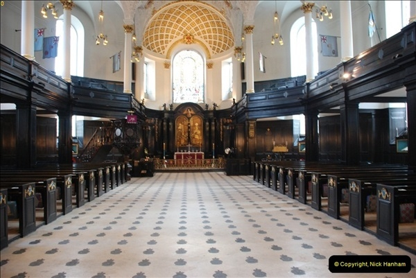 2012-03-18 St. Clement Danes.  The RAF Church, The Strand, London.  (6)012