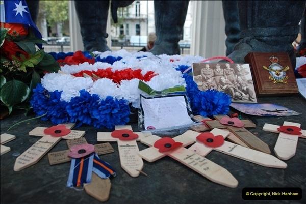 2012-10-06 The LONG OVERDUE Bomber Command Memorial @ Green Park, London (10)050