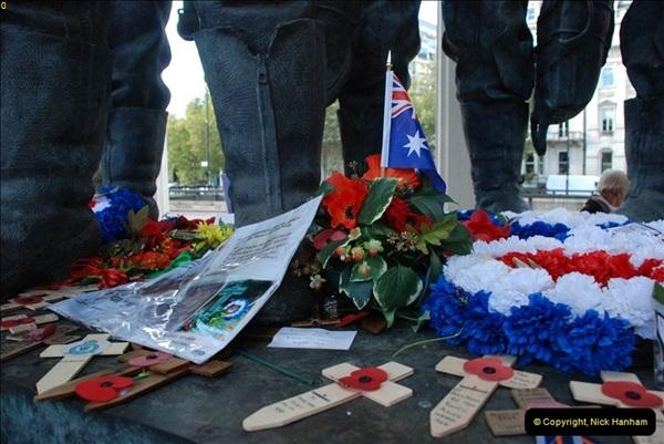 2012-10-06 The LONG OVERDUE Bomber Command Memorial @ Green Park, London (11)051