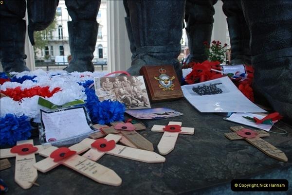 2012-10-06 The LONG OVERDUE Bomber Command Memorial @ Green Park, London (12)052