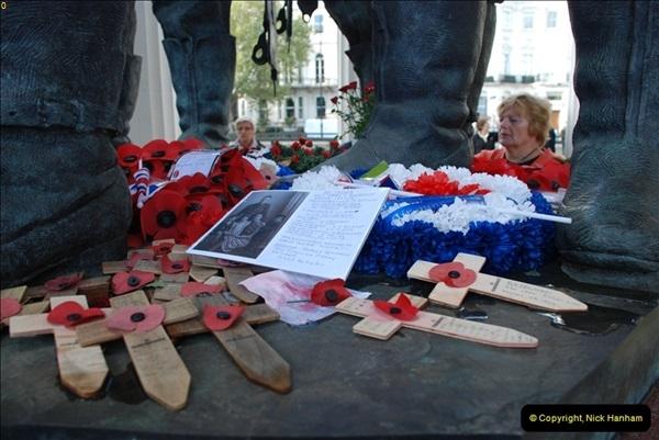 2012-10-06 The LONG OVERDUE Bomber Command Memorial @ Green Park, London (13)053