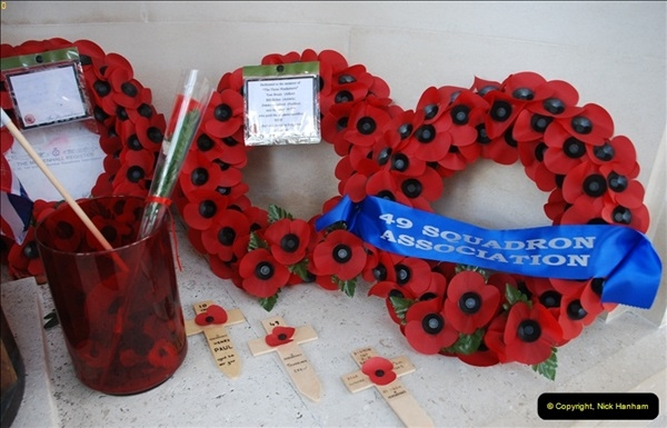 2012-10-06 The LONG OVERDUE Bomber Command Memorial @ Green Park, London (19)059