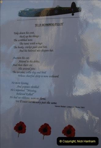 2012-10-06 The LONG OVERDUE Bomber Command Memorial @ Green Park, London (20)060