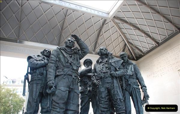 2012-10-06 The LONG OVERDUE Bomber Command Memorial @ Green Park, London (3)043