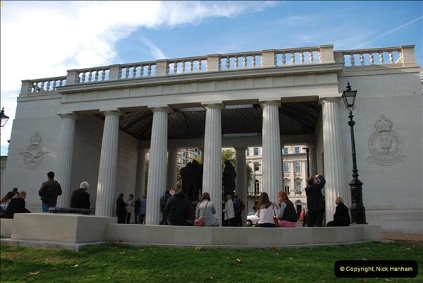 2012-10-06 The LONG OVERDUE Bomber Command Memorial @ Green Park, London (33)073