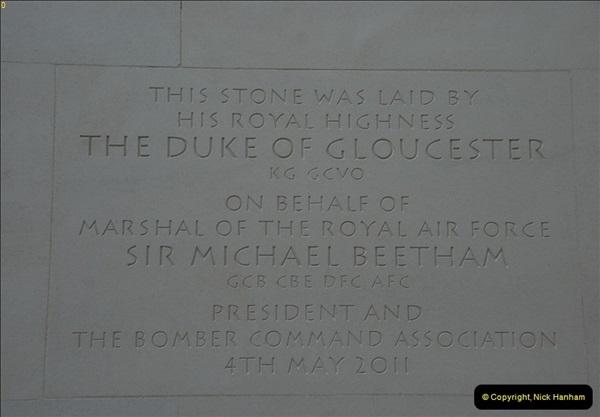 2012-10-06 The LONG OVERDUE Bomber Command Memorial @ Green Park, London (34)074