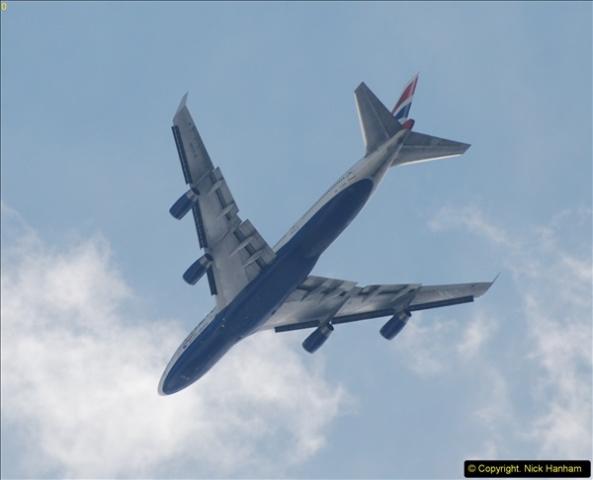 2014-07-13 British Airways 747 over Finsbury Park, London.  (2)120