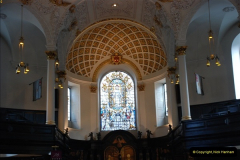 2012-03-18 St. Clement Danes.  The RAF Church, The Strand, London.  (11)017