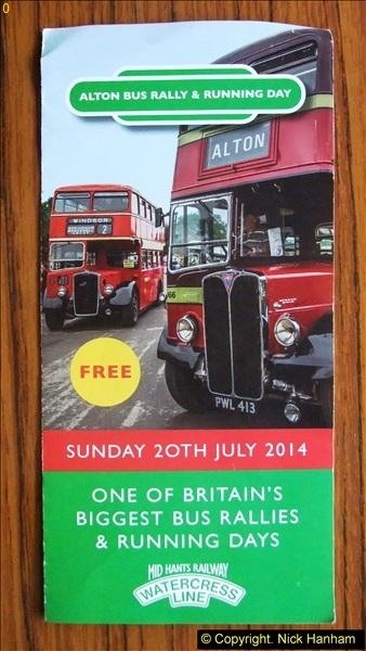 Alton Bus Rally 21 July 2014