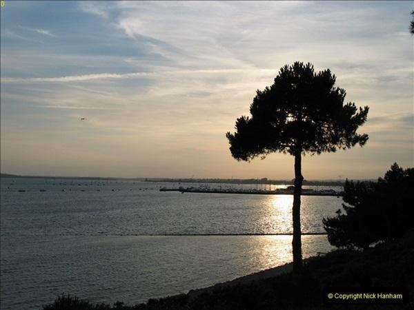 2005 July. Sunset 1. Poole Harbour, Dorset. (1)095